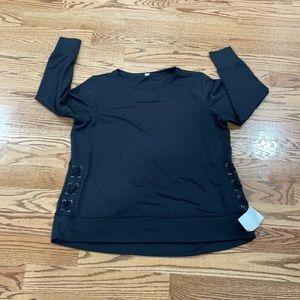 Long sleeve shirt ideology size 2x new women